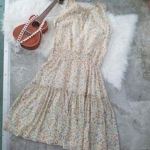 Lauren Ralph Lauren Tiered Floral Dress 16